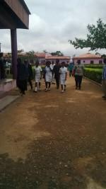 Photo: Abducted Babington Lagos School Girls Return To School