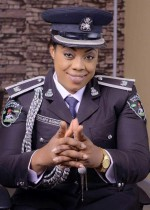 Check Out Stunning Photos Of Lagos Police PRO Dolapo Badmos In Her Official Ceremonial Outfit