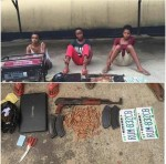 Photo: Deadly Female Robbery Gang Arrested In Rivers State