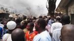 Photo Speak: Fire Guts Yankura Market In Kano