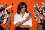 America's First Lady Michelle Obama WOWS In Beautiful Photos For Verge