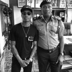 """""""Police Is Your Friend""""- Wizkid As He Posts Photo Of Himself With Lagos State Police Commissioner, Throws Shade At Linda"""