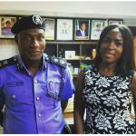 This Is What Happened When Linda Ikeji And Wizkid Visited The Commissioner Of Police Today