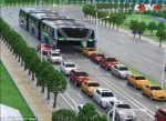 Innovative! China Unveils Elevated Bus That Other Cars Can Drive Under To Tackle Traffic(Photos/Video)