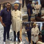 Minister Of Transport(Hon.) Rotimi Amaechi Celebrates Birthday With COZA Pastor Biodun Fatoyinbo