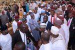 Photo Speak: President Buhari Hosts National Lawmakers, APC Chieftains