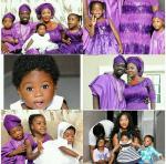 Actress Mercy Johnson Shares Family Photos From Baby's Dedication