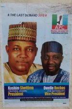 Shettima, Okorocha APC Presidency Posters Flood Abuja