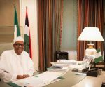 Photos: President Buhari Resumes Work After 13 Day Vacation