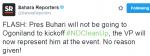 President Buhari Cancels Trip To OgoniLand