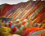 This Is Not A Painting, Behold The Rainbow Mountains Of China!