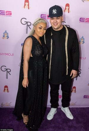 Rob Kardashian And Pregnant Black Chyna Back Together After Vicious Fight