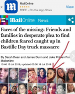 "Nigerian Girl Listed Amongst The Terrorist Attack Victims Plans To Sue UK Tabloid ""Daily Mail"" For Falsified Information"