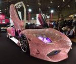 Diamond Lamborghini On Display In China Auto Show