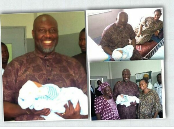 Senator Dino Melaye Welcomes Baby Boy!