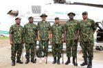 Once A Soldier! President Buhari Dons Military Uniform In Zamfara(Photos)