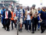 Governor Rochas Rides To Work By Bicycle! (Photos)