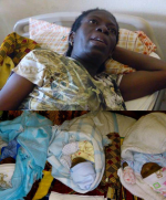 Woman Delivers Triplets After 29 Years Of Barrenness