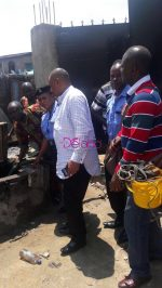 Police Excavate Oil Discovered At Wells In Residential Areas In Ilasamaja, Lagos (Photos)