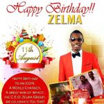 Birthday Shoutout To Blog Reader Zelma