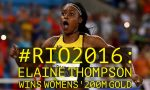 #Rio2016: History Made As Jamaica's Elaine Thompson Becomes First Woman In 28 Years To Win 100 And 200 Meters At The Olympics