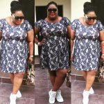 She Looks Fab! Actress Eniola Badmus Steps Out In A Dress  And Snickers
