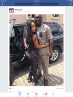 Is This Her New Boo? Toke Makinwa All Loved Up With Mystery Man In New Photos