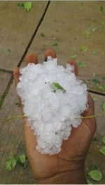 It Rained Ice In Jos This Morning(Photos)