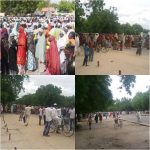 Internally Displaced Persons(IDPs) Go On Rampage In Maiduguri, Protest Hunger, Neglect