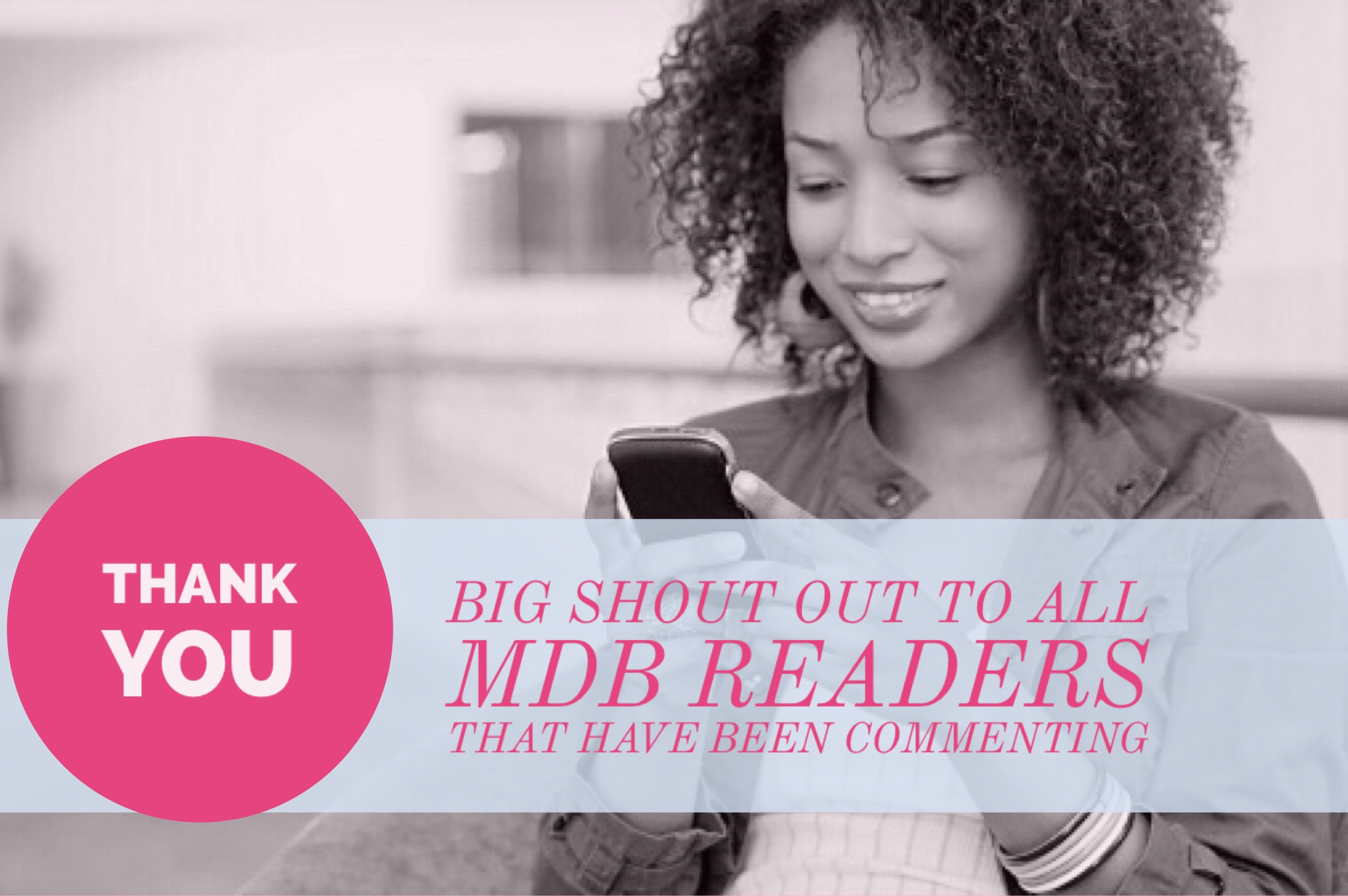 Friday Blog Reader Appreciation