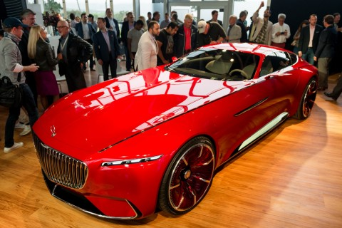 2018 maybach vision. exellent 2018 this dramatic vision mercedesmaybach 6 coupe has been unveiled at the 2016  pebble beach concours name referencing its enormous nearsixmetre length to 2018 maybach vision