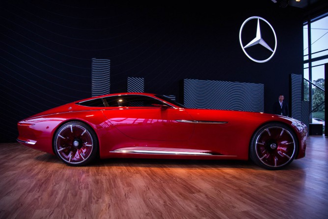 Unveiling The New Mercedes Benz Quot Maybach Vision 6