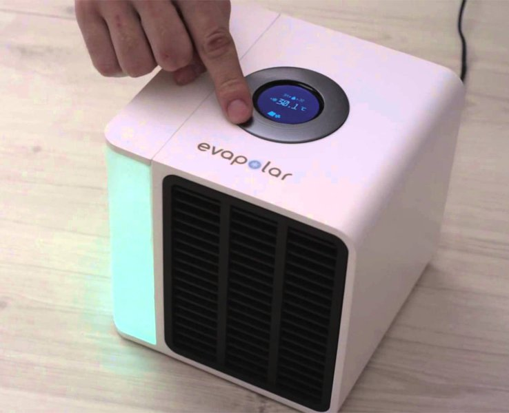 EVAPOLAR: Have A Look At The Worlds First Table-Top Airconditioner