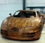 Wooden Bugatti