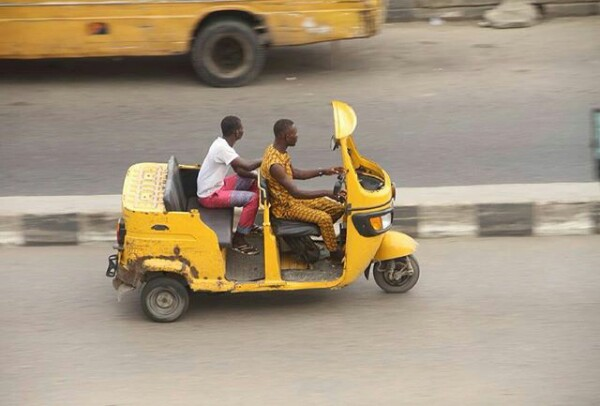 Only In Lagos: Convertible Keke Marwa