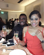 Footballer Emmanuel Emenike Just Proposed To21-year-old MBGN 2014 Iheoma Nnadi(Photos)