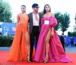 Crotch Display: See How Italian Models Giulia Salemi And Dayane Mello Left NOTHING To The Imagination As They Posed On Red Carpet Venice Film Festival