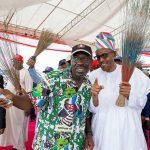 President Buhari Shuts Down Edo State As He Attends APC Gubernatorial Grand Finale Rally