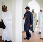 Drama As Ex-President Jonathan Steals The Show At First Council Of State Meeting