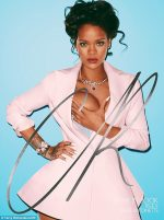 All Hail The Queen! Rihanna Grabs One Boob As She Transforms Into Saucy Marie Antoinette For Terry Richardson Cover Shoot