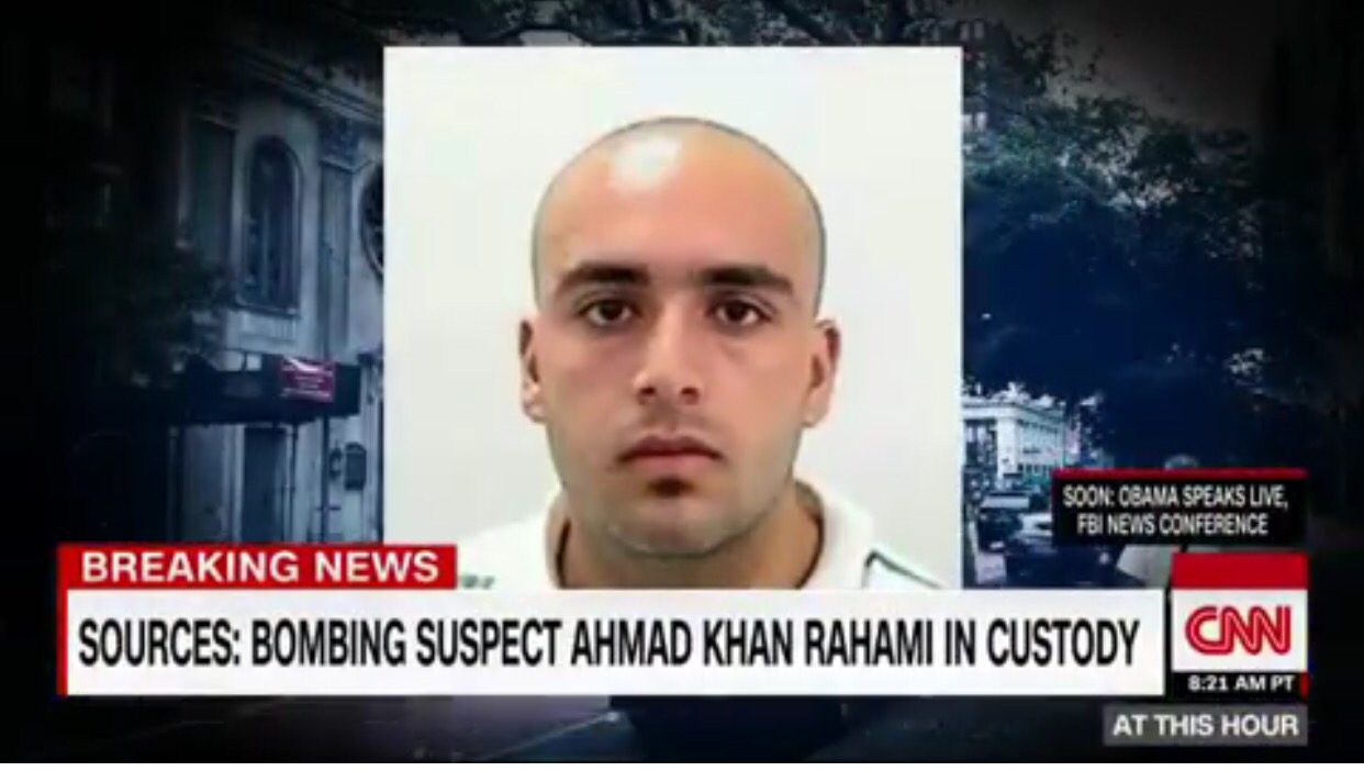 BREAKING: Suspect Wanted for Newyork, New Jersey Bombings Arrested After Shootout With Police