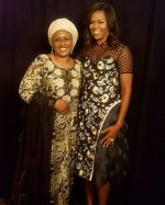 Mrs Aisha Buhari Meets With American First Lady Michelle Obama In Newyork(Photos)