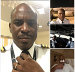 Photos: President  Buhari's Official Pilot Who Flies The NAF 001 Plane