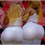 OMG! Abidjan Actress/Model YAO NICE 'Breaks' Instagram With Her Massive Backside(Photos Inside)