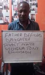 Father Rapes Daughter, Admisters Drug To Prevent Pregnancy