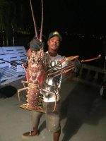 Mexican Fisherman Discovers 4ft Long Prawn While Fishing On Panamanian Boarder PHOTOS INSIDE