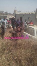 Shocking: Naked Flying Witchcraft Family Allegedly Crashlands In Zambia(Photo)