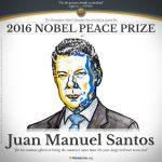 Colombian President Juan Manuel Santos Wins Nobel Peace Prize