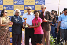 Nigerian Girl Smashes Sports Records In Indian University