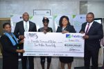 Photos From Prize Presentation Of Fidelity Bank's Get Alert In Millions Savings promo